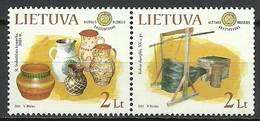 Lithuania 2011 Mi 1070-1071 MNH ( ZE3 LTHpar1070-1071 ) - Cultures