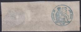 F-EX16913 SPAIN ESPAÑA 1857 POLIZAS DE BOLSA REVENUE SELLO 3ro COMPLETO - Fiscales