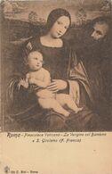 Roma   -  Pinacoteca Vaticana    -  La Verigine Col Bambino  S. Girolamo (F. Francia) - Malerei & Gemälde