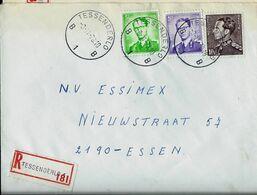 Doc. De TESSENDERLO - B 1 B - Du 03/11/70  En Rec. ( E ) - Marcophilie