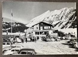Amden Berg-Café Arvenblick/ Oldtimer Autos - SG St. Gallen
