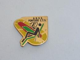Pin's STADE, AGSS PONTOISE CTA - Pin's