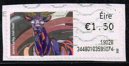 Irland ATM 2018,Michel# 104 I O - Franking Labels