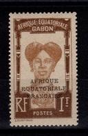 Gabon - YV 105 N* (charnieres Multiples) - Unused Stamps