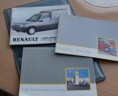 RENAULT EXPRESS (Bedienungs Und Wartungsanleitung, Werkstattennetz, Garantie + Wartung), 3 Bücher In Dazugehöriger Mappe - Shop-Manuals