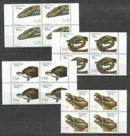 4x GUINEA BISSAU - MNH - Animals - Reptiles - Turtles - Snakes - Turtles