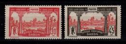 Gabon - YV 85 & 86 N* Cote 4,30 Euros - Unused Stamps