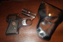 Pistolet A Blanc.EMGE.cal.320 - Sammlerwaffen
