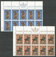 10x LIECHTENSTEIN - MNH - Europa-CEPT - Art - 1974 - Europa-CEPT