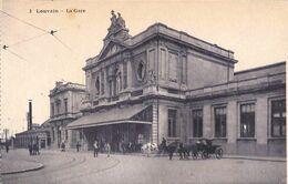 Louvain Leuven - La Gare Statie (animatie, TOB L'Illustration Générale) - Leuven