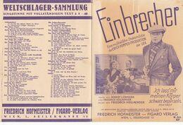 """""""Einbrecher"""" Musikalische Ehekomödie, PROGRAMM Aus Dem Jahr 1930 - Programma's"""