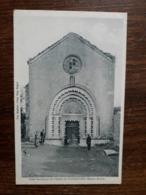 L28/1180 GANAGOBIE - PORTE HISTORIQUE DE L'EGLISE - Andere Gemeenten