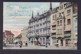 Ansichtskarte Forst Brandenburg Lausitz Marktplatz Nach Lohr Am Main Bayern - Deutschland