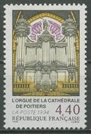 Frankreich 1994 Kathedrale Von Poitiers Orgel 3036 Postfrisch - Unused Stamps