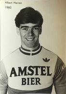 Postcard Albert Harren - Amstel Bier - 1982 - Cycling