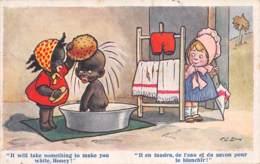 Il En Faudra De L'eau Et Du Savon...... - Signée - Andere Illustrators