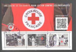 France Bloc Oblitéré (Croix Rouge Française 2019) ( Cachet Rond) - France