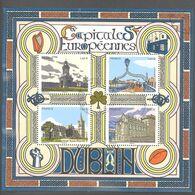 France Bloc Oblitéré (Capitales Européennes Dublin) ( Cachet Rond) - Usati