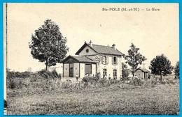 CPA 54 Ste SAINTE-POLE (près Badonviller) - LA GARE ° Poirot édit. Photo Gaymard - Frankreich
