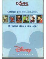 Catalogue De Timbres Poste Domfil Disney Stamps CATALOG 1a Ed. 516  Pages PDF LIVRAISON GRATUITE FREE SHIPPING - Thema's