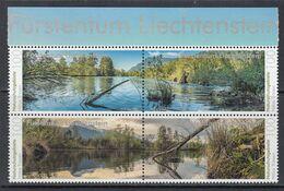 2018 Liechtenstein Nature Environment Complete Block Of 4  MNH @ BELOW FACE VALUE - Liechtenstein