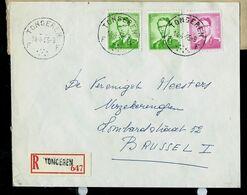 Doc. De TONGEREN - F F - Du 14/04/65 En Rec. ( E ) - Marcophilie