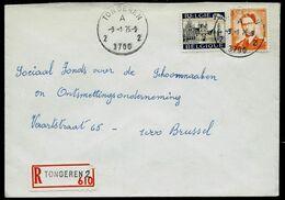 Doc. De TONGEREN - 2 A 2 - ( 3700 ) Du 09/01/75 En Rec. ( E ) - Marcophilie