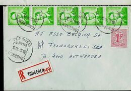 Doc. De TONGEREN - Oudste Stac Le 19/10/70 En Rec. ( E ) - Marcophilie