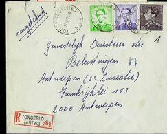 Doc. De TONGERLO ( ANTW. ) - A 1 A - Du 17/09/71 En Rec. ( E ) - Marcophilie