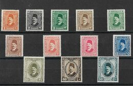 Egypte Egypt 1927/37 King Fuadt Mh - Ungebraucht