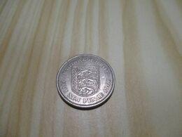 Jersey - 5 New Pence Elizabeth II 1968.N°334. - Jersey