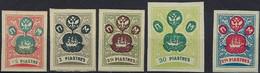 Russia / Wild Levant, 1919, Kramarenko: IV B, XV B, V B; Selection Of 3 ROPIT Stamps, MNHOG - Wrangel Army