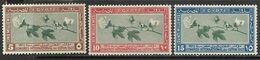 Egypt  1927    Sc#125-7   Cotton Set   MH    2016 Scott Value $8 - Unused Stamps