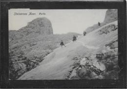 AK 0554  Steinernes Meer - Bergsteiger-Partie Um 1910-20 - Alpinisme
