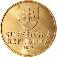 Monnaie, Slovaquie, Koruna, 2002, SPL, Bronze Plated Steel, KM:12 - Slovacchia