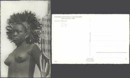 Carte Postale - Congo Belge : Jeune Femme Seins Nus (Exposition Bruxelles 1958) / Neuve. - Congo Belga - Otros