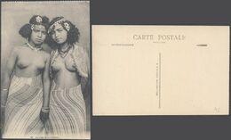 Carte Postale - Jeunes Mauresques (n°32 , Collection Idéale P.S.) Femmes Seins Nus / Neuve. - Marruecos
