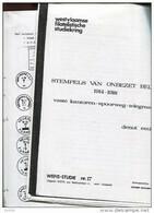 Belgie Literatuur  1977 17blz Studie WEFIS 17 Stempels Van Onbezet Belgie 1914-1918 (copie) - Unclassified