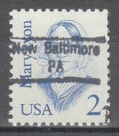 USA Precancel Vorausentwertung Preo, Locals Pennsylvania, New Baltimore 843 - Prematasellado