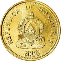 Monnaie, Honduras, 5 Centavos, 2006, SPL, Laiton, KM:72.4 - Honduras