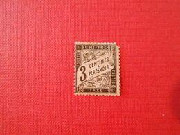 FRANCE  YT TX 12 TYPE DUVAL - 3c. Noir - 1859-1955 Used