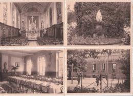 Melsbroek, Pensionnaat Ursulines, 4 Postkaarten, 8 Scans - Belgique