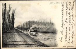 Cp Mery Sur Seine Aube, Le Canal - Andere Gemeenten