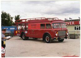 < Automobile Auto Voiture Car >> Photo Originale 12 X 17 Fiat Bartoletti Ferrari Race Car Transporter - Automobili