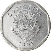 Monnaie, Costa Rica, 10 Colones, 1992, SPL, Stainless Steel, KM:215.1 - Costa Rica