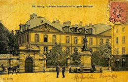030 271 - CPA - France (54) Meurthe Et Moselle - Nancy - Place Dombasle Et Lycée National - Nancy
