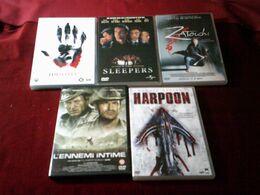 LOT DE 5 DVD   POUR 20 EUROS   ( Lot 35 ) - DVDs