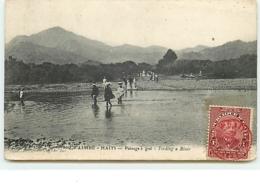 LIMBE - Haïti - Passage à Gué - Haiti