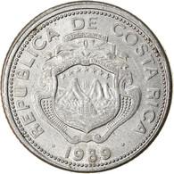 Monnaie, Costa Rica, 25 Centimos, 1989, SPL, Aluminium, KM:188.3 - Costa Rica