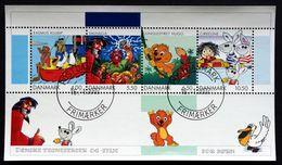 Denmark 2002   Comics.  MiNr.1299-02 Block 18    (o) ( Lot Mappe ) - Danimarca